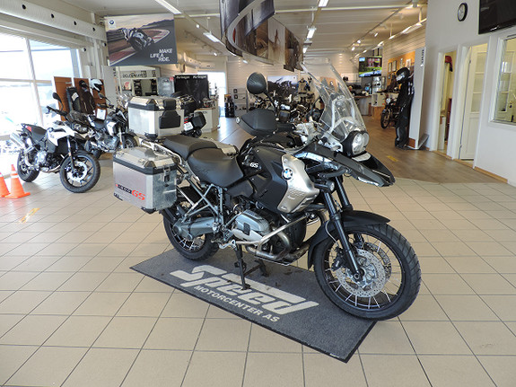 BMW R1200GS Tripel Black