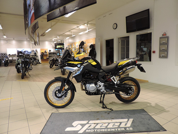 Bilbilde: BMW F850GS 40 Years Edition