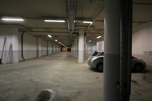 God parkering rett utenfor døren