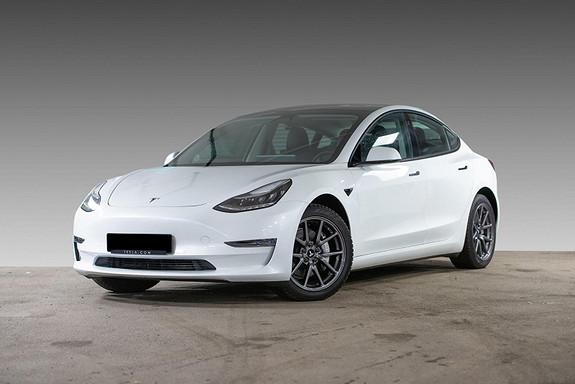 Tesla Model 3 LR AWD AP/H.FESTE/VARMEPUMPE/S+ V  2021, 1800 km, kr 499900,-