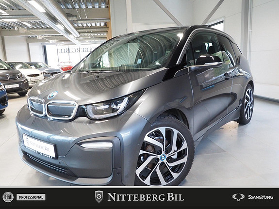 BMW i3 94Ah Fully Charged Edition - Varmepumpe - SE KM!!!  2019, 8 500 km, kr 289 000,-