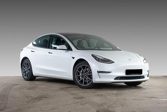 Tesla Model 3 LR AWD AP/H.FESTE/VARMEPUMPE/S+ V  2021, 2100 km, kr 499900,-