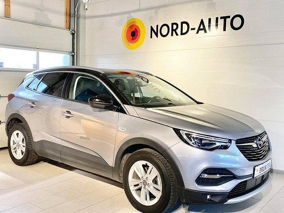 Opel Grandland X 1.6  D 120HK/PREMIUM/AUTOMAT/WEBASTO/LED/NAVI/KROK  2018, 46500 km, kr 339900,-