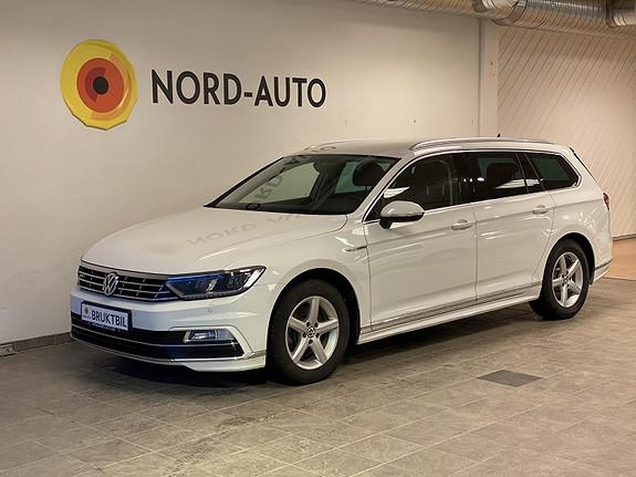 Volkswagen Passat 2.0  TDI/R-Line/4Motion/Krok/Webasto/Skinn/Led  2017, 66000 km, kr 379900,-