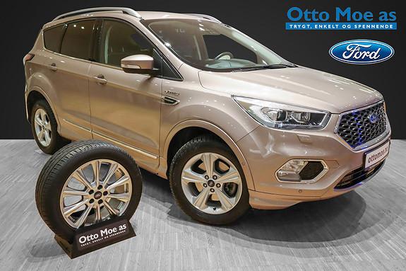 Ford Kuga 2,0 TDCi 180hk AWD Vignale aut BRUKTBILKAMPANJE  2018, 61186 km, kr 439900,-