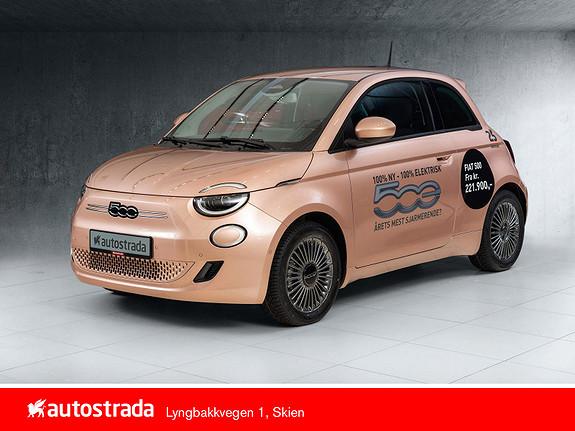 Fiat 500 Icon 100% Elektrisk 7 år garanti!  2021, 5000 km, kr 299000,-