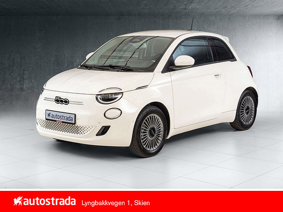 Fiat 500 Icon 100% Elektrisk 7 år garanti!  2021, 10 km, kr 307160,-