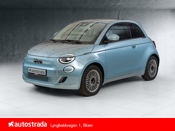 Fiat 500 Icon 100% Elektrisk 7 år garanti!  2021, 10 km, kr 314000,-