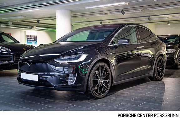 Tesla Model X 100D 4WD 2018, 87000 km, kr 679000,-