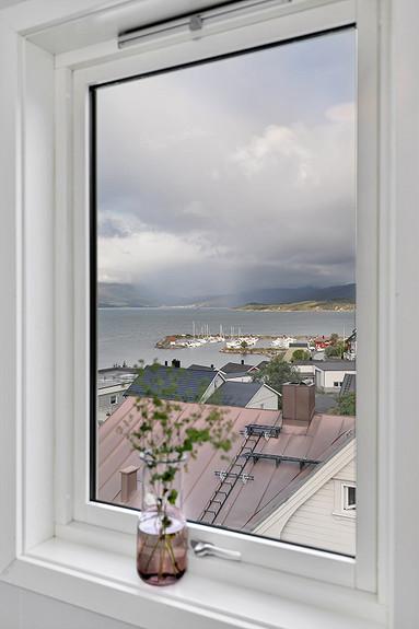 Loftsetasje - Utsikt fra kontor
