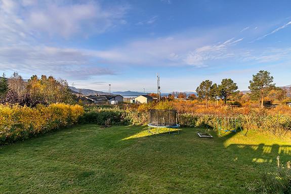 Utsikt fra veranda mot Ofotfjorden