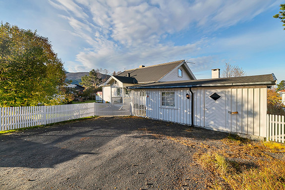Uthuset er sammenbygd i boligen - Ditt nye hobbyrom?