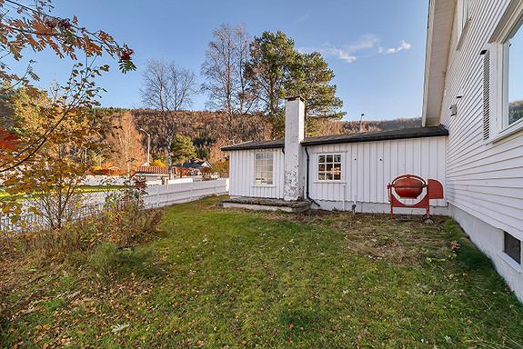 Uthus som er sammenbygd i boligen - Ditt nye hobbyrom?