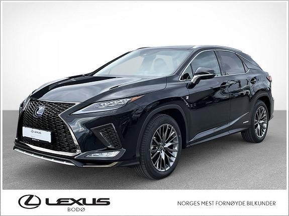 Lexus RX450h F Sport S Alt Utstyr, DropOF ++  2021, 5000 km, kr 999000,-