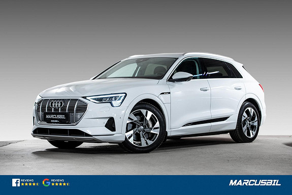 Audi e-tron 55 ADVANCE BUSINESS MATRIX   ACC   H.FESTE   VINTERPAKK  2020, 800 km, kr 719900,-
