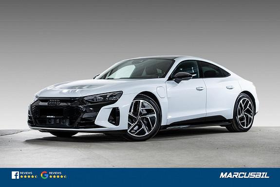 "Audi e-tron GT QUATTRO/LUFT/ACC/PANO/MATRIX/4-HJULSTYRING/20""&20""  2022, 10500 km, kr 989000,-"