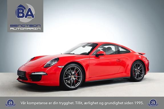 Porsche 911 991 CARRERA 4S 400HK - ACC SP.CHRONO+SP.EKSOS18-VEIS  2013, 64000 km, kr 1049000,-