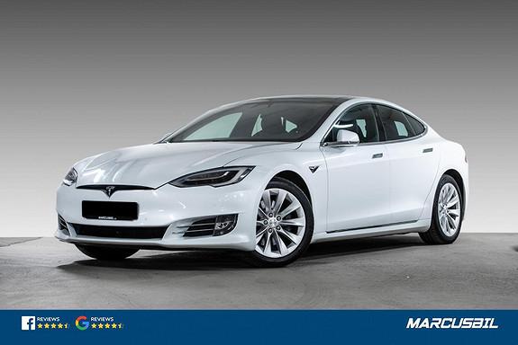 Tesla Model S 75D EAP/LUFT/SKINN/SOLTAK/CARBON/MCU2  2018, 95000 km, kr 399999,-