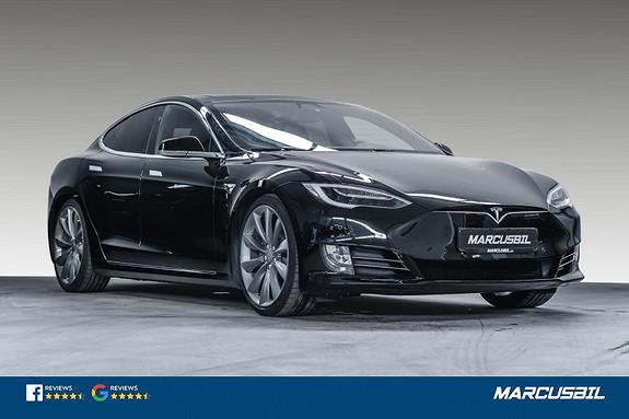 "Tesla Model S 75D/AP2.5/HIFI/VINTER/PANO/21""+19""/LAV KM  2017, 43500 km, kr 449000,-"