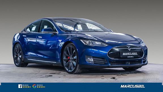 "Tesla Model S P90DL+ 7S/HIFI/VINTER/PANO/21""&19""/GRATIS LADING  2016, 106500 km, kr 429000,-"