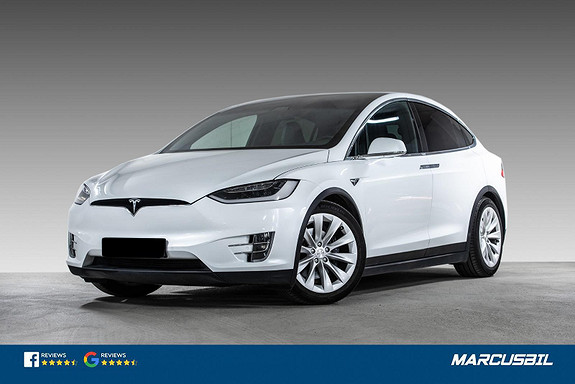 Tesla Model X 75D EAP/7S/LUFT/H.FESTE/MCU2/NETFLIX/BØR SEES!  2018, 92450 km, kr 529900,-