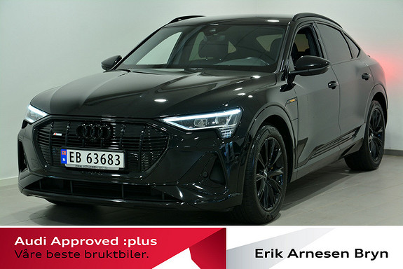 Audi e-tron Sportback 50 Sportback S line Business  2020, 34900 km, kr 639900,-