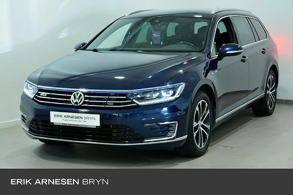 Volkswagen Passat 1,4 TSI 218hk DSG Webasto, Krok, Kamera, Active info +  2017, 79002 km, kr 259900,-