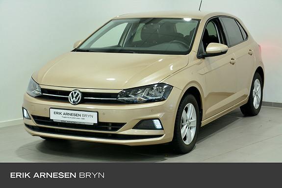 Volkswagen Polo 1,0 TSI 95hk Businessline aut  2019, 10664 km, kr 194900,-