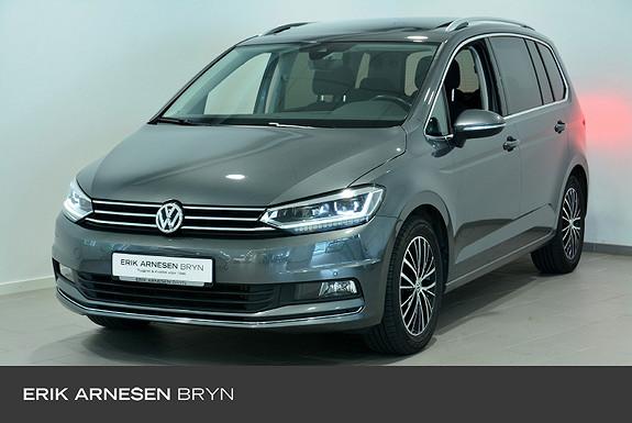 Volkswagen Touran 7s 150 tsi dsg family Easy open, Panorama, Kamera + +  2018, 37732 km, kr 319900,-