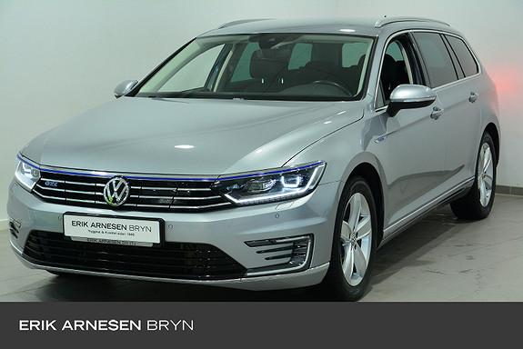 Volkswagen Passat stv gte exclusive Kupevarmer, H.feste, Ryggekamera  2018, 59700 km, kr 304900,-