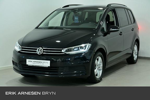 Volkswagen Touran 7s 150 tsi dsg bus.kamp Kamera, Navi, El. bakluke + +  2017, 63600 km, kr 299900,-