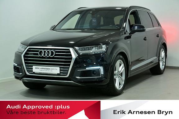 Audi Q7 e-tron quattro 373 hk 5-s Webasto, Head-up, Nattsyn + +  2018, 62123 km, kr 749900,-