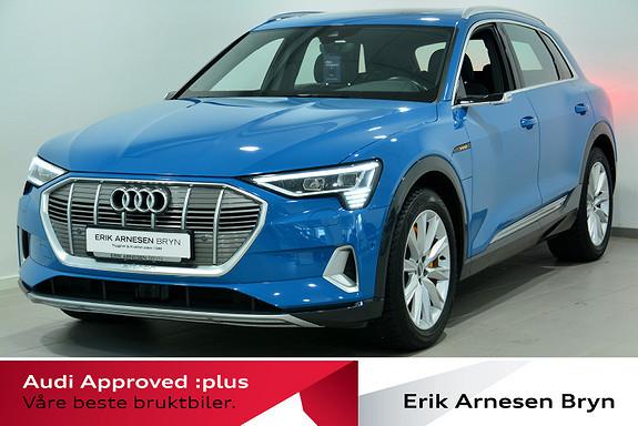 Audi e-tron 55 EDITION ONE Pano, Krok, Matrix, B&O, Luft, Kamera++  2019, 36143 km, kr 629900,-