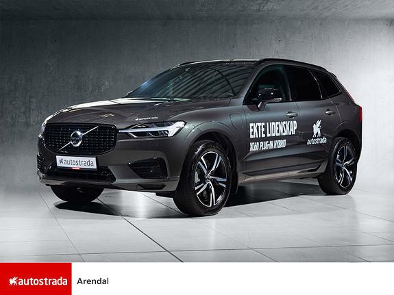 Volvo XC 60 T6 AWD R-design PANO/KROK/NAVI++  2021, 26000 km, kr 749000,-