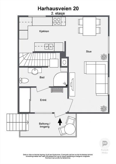 Harhausveien 20 - 2. etasje - 2D
