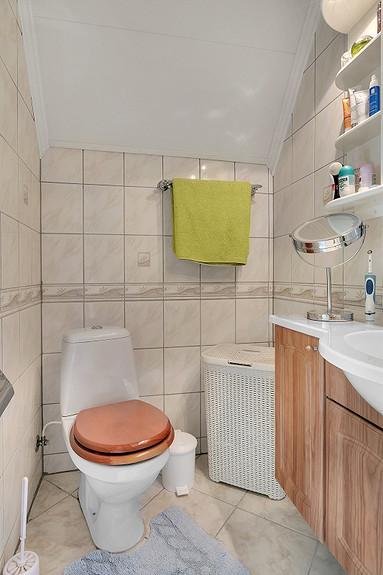 Bad med varmekabel i gulv