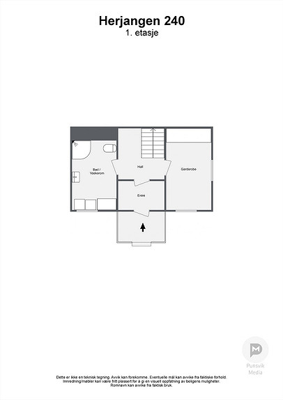 Herjangen 240 - 1. etasje - 2D