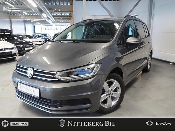 Volkswagen Touran 1,6 115hk TDI Businessline 7 Seter - H-Feste - Webasto+  2019, 37000 km, kr 359000,-