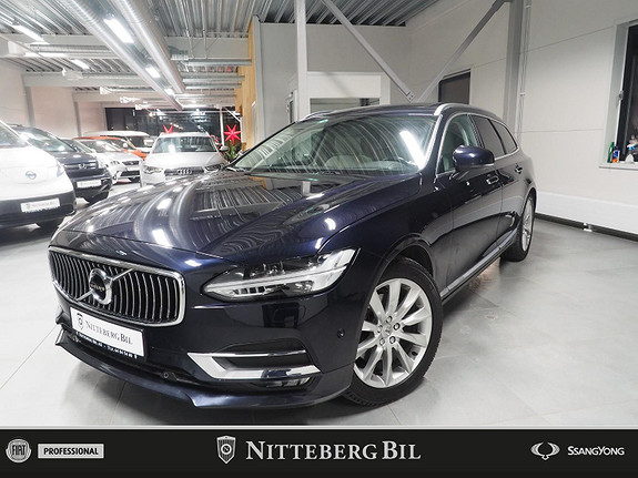 Volvo V90 D4 Inscription - VOC - Panorama - Navi - ventilert sete  2017, 116000 km, kr 409000,-