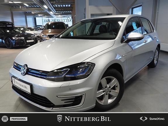 Volkswagen Golf e-Golf Fullskinn - Varmepumpe - 300km - 100kW - Norsk!  2019, 19000 km, kr 269000,-