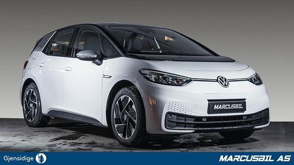 Volkswagen ID.3 1ST ACC/VINTERPAKKE/VARMEPUMPE/S+ V/SERVICEPAKKE  2021, 500 km, kr 339000,-