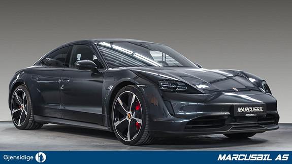 "Porsche Taycan 4S PERFORMANCE PLUSS/BOSE/4+1/ACC/18-VEIS/21""+20""  2020, 5700 km, kr 1250000,-"