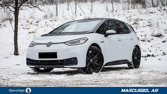 Volkswagen ID.3 1ST MAX SOLTAK/ERGO ACTIVE/HEAD-UP/SERVICE AVTALE+++  2020, 3500 km, kr 444000,-