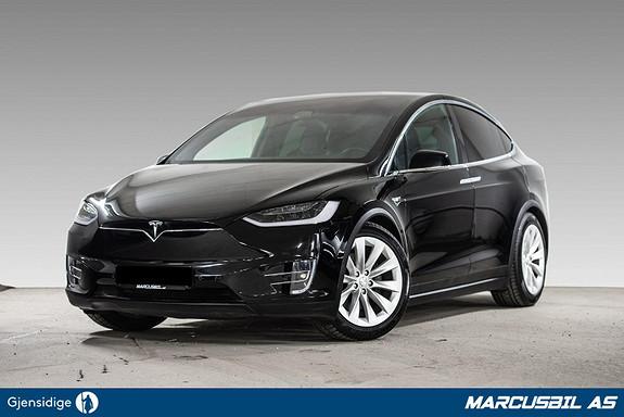 Tesla Model X 75D 5S/AP2.5/SKINN/HIFI/VINTER/H.FESTE/MCU2  2018, 43000 km, kr 589900,-