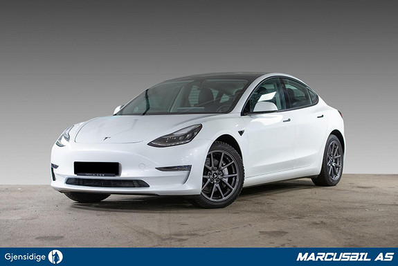 Tesla Model 3 LR AWD AP/H.FESTE/VARMEPUMPE/S+ V  2021, 9500 km, kr 479900,-