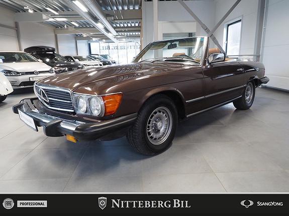 Mercedes-Benz SL 380 Cabriolet med Hardtop  1981, 70000 km, kr 189000,-