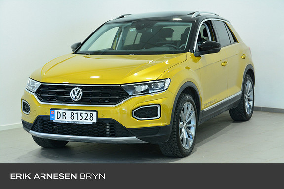 Volkswagen T-Roc sport   190 tsi 4m dsg* Webasto, Panorama, Active info  2020, 9000 km, kr 479900,-