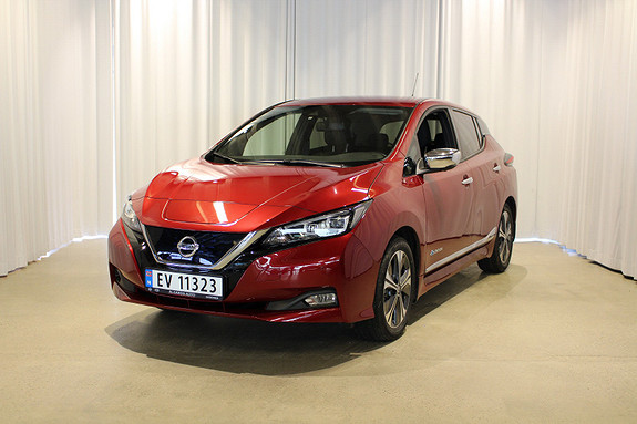 Nissan Leaf 40kWh Tekna -NORSK-1 EIER-VINTERPAKKE-PROPILOT-E PEDAL-  2018, 21000 km, kr 219000,-