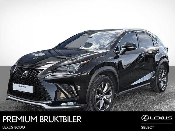 Lexus NX 300h F Sport S   Hybrid   Soltak   Alt utstyr  2019, 45100 km, kr 599000,-