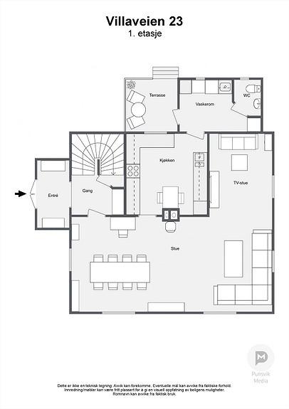 Villaveien 23 - 1. etasje - 2D